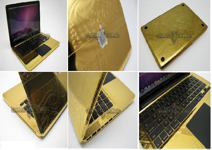 لپ تاپ طلایی